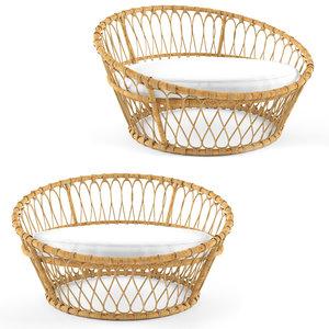 nest chair serena 3D model