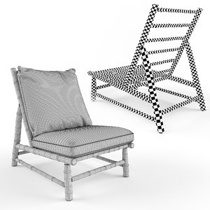 tinekhome tre lounge chair 3D