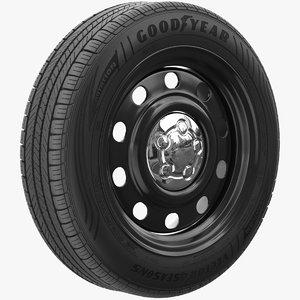 wheel good year 3D model