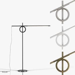 floor lamp pallucco tangent model