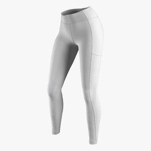 3D model leggings w 02
