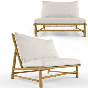 3D tinekhome tre lounge chair model
