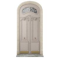Entrance classic door 26