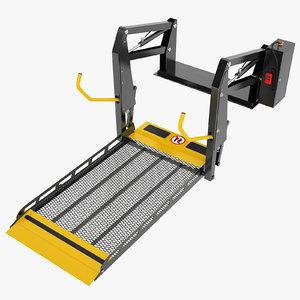 wheelchair lift 3D model