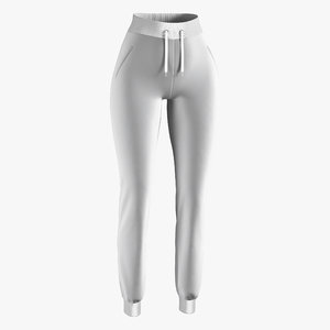 sweatpants female w 3D