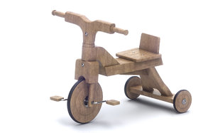 wooden bicycle 3D