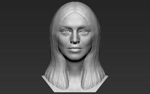 madonna bust printing 3D model