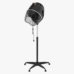 hair dryer 3D