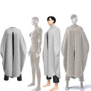 character arabian cloth 3D model