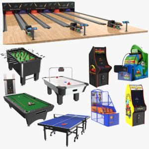 indoor games 3D