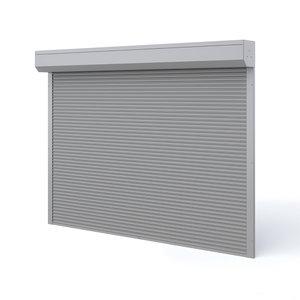 3D roll shutters model