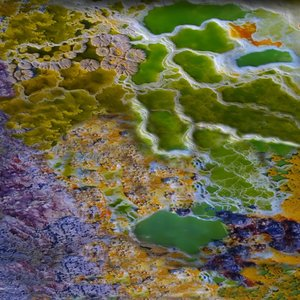 3D acid lake