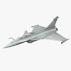 rafale fighter 3D model
