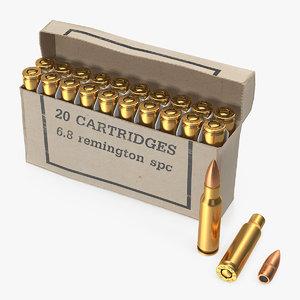box 6 8mm remington 3D