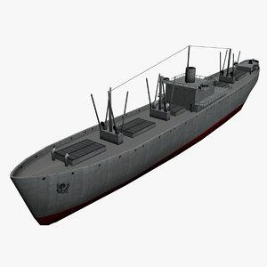 liberty freighter ec2-s-c1 polys 3D