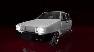 3D mehran car