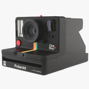 polaroid camera 3D model