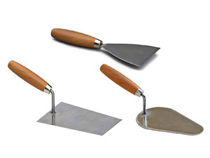 construction tools trowel model