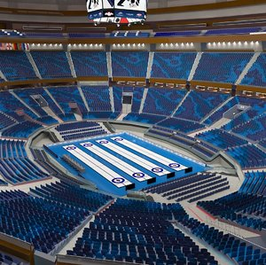 curling arena model