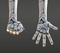 Robotic hand anatomy
