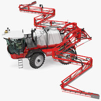 Agrifac Condor V Self Propelled Crop Sprayer Clean Rigged