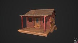 house pbr 3D model