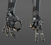 hand anatomy mechanical