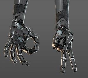 3D hand anatomy