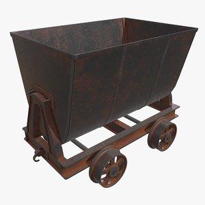 3D pbr cart model