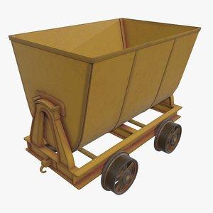 pbr cart 3D model