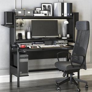 office fredde workplace markus model