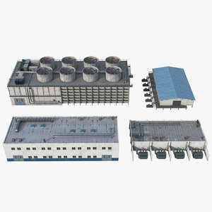 pbr industrial unit 3D