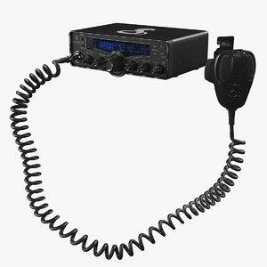 cobra cb radio 3D model
