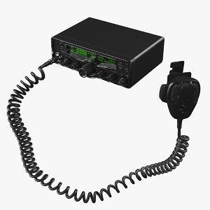 3D cb radio model