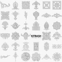 35 Classic Patterns Kitbash