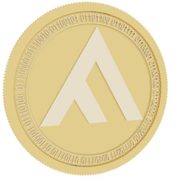 fxpay gold coin 3D