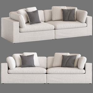 freedom salsie 3-seater sofa 3D