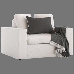 3D model freedom salsie armchair