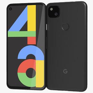 realistic google pixel 4a model