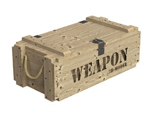 3D crate weapon