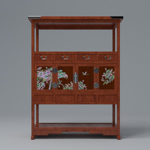 cabinet mother pearl 3D