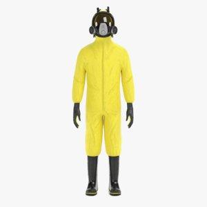 3D protective suit