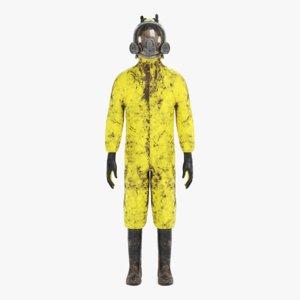 3D protective suit 2 model