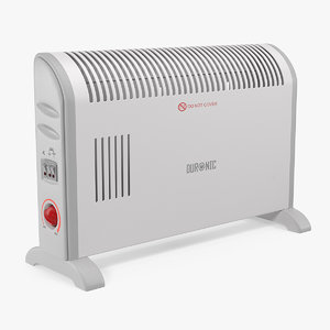 duronic convector heater hv120 3D model