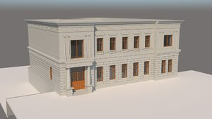 old house style hous 3D model