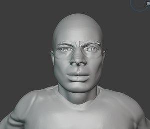 3D model fenerbahce alex souza