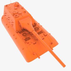 durchbruchspanzer e-100 3D model