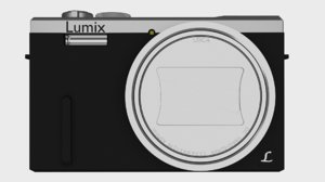 3D model camera based panasonic zs40