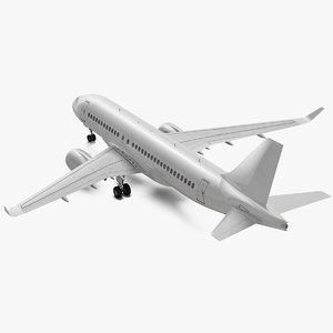 3D airbus a220 100 simple
