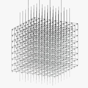 usona home chandelier 3D model